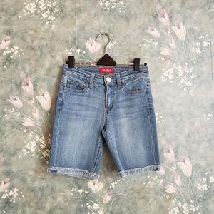GUESS Biker Jeans Shorts